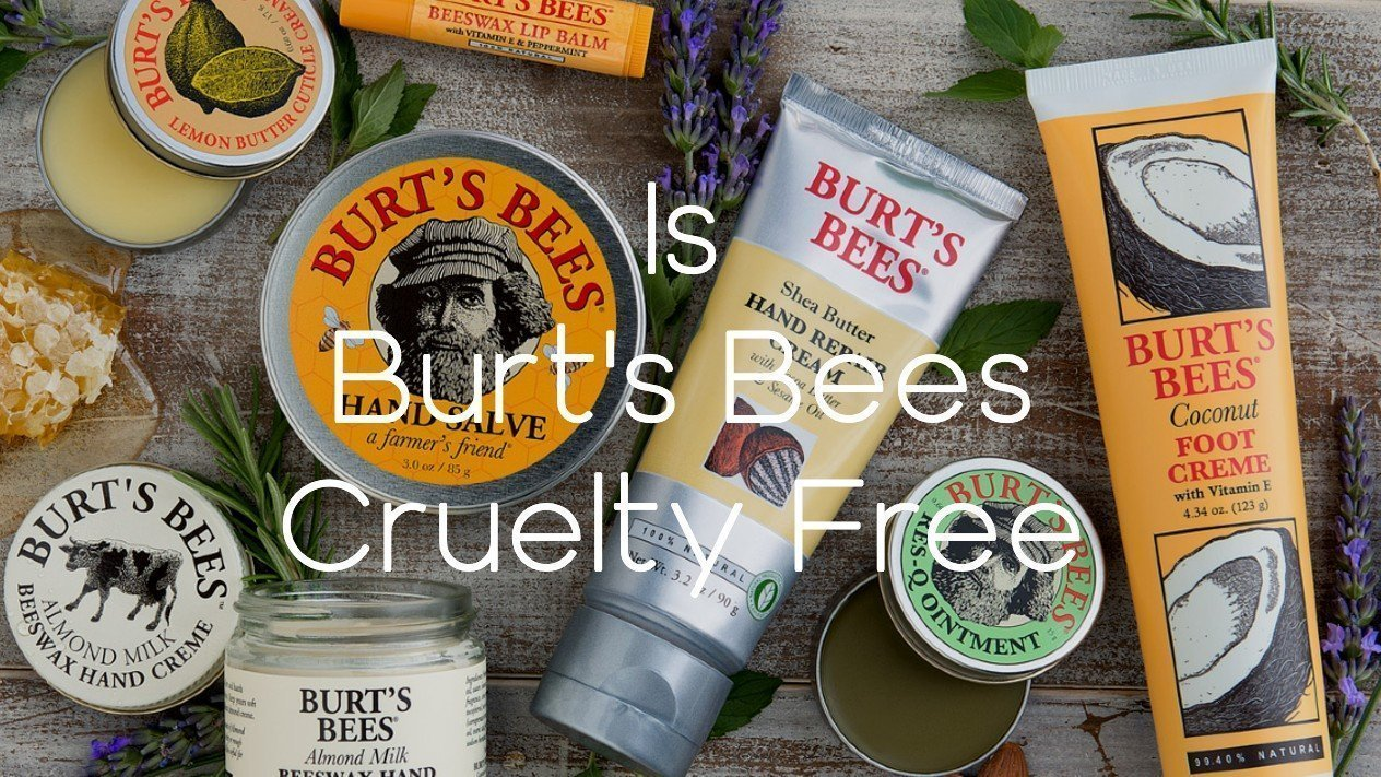 Is Burts Bees Cruelty Free - A-Lifestyle