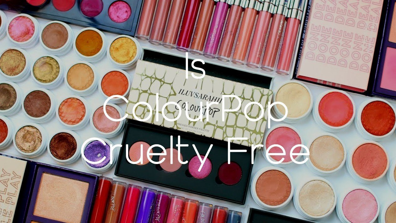 Is ColourPop Cruelty Free - A-Lifestyle