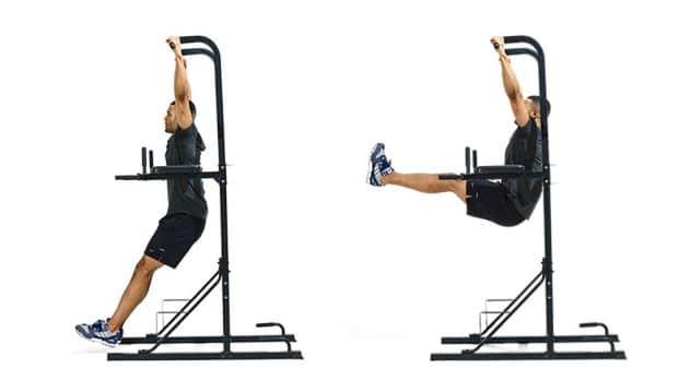 Hanging leg raise - A-Lifestyle