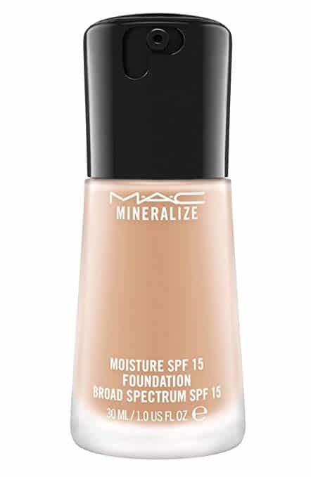 Mac Mineralize Moisture SPF 15 Foundation Broad Spectrum