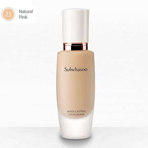 Sulwhasoo Sheer Lasting Foundation