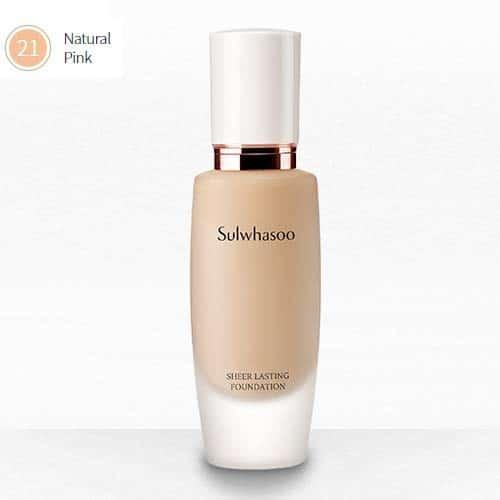 Sulwhasoo Sheer Lasting Foundation