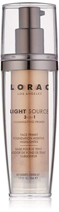 LORAC Primer -  LORAC Light Source Illimunating 3 in 1 Primer