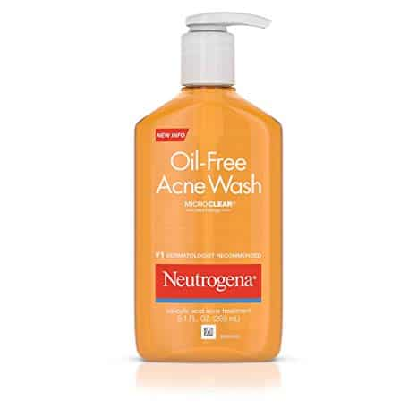 Neutrogena Oil-Free Salicylic Acid Acne Fighting Face Wash