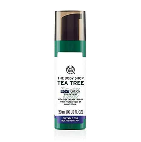 The Body Shop Tea Tree Night Lotion