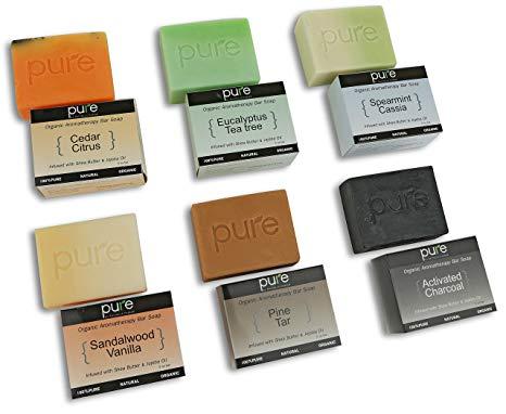 Pure by Rachelle Parker Essential Oil Handmade Soap Bar